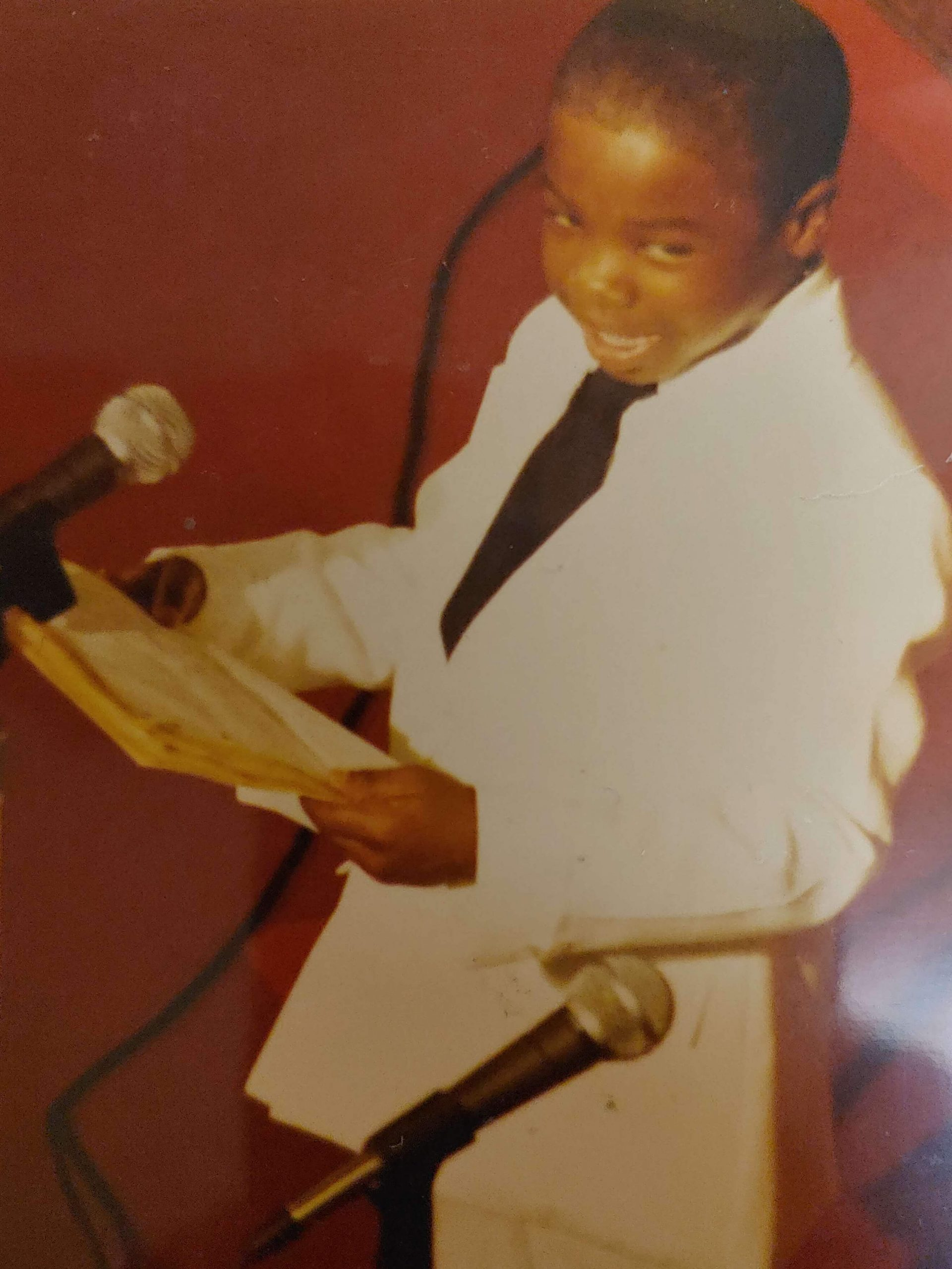 Image of Rodney C. Burris as Toddler in Suit